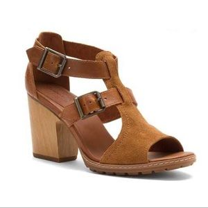 Timberland Strafford Double Buckle Sandals Suede 7